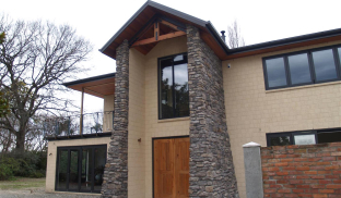 Exterior Feature Walls